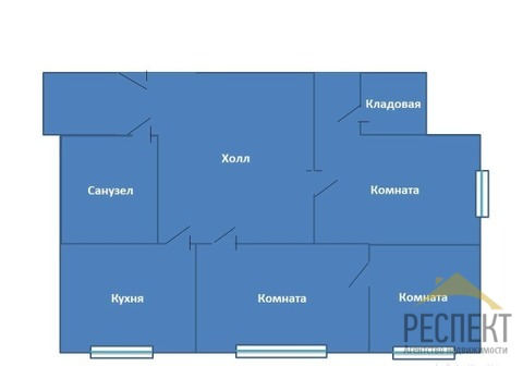 Продаётся 2-комнатная квартира по адресу Гоголя 23