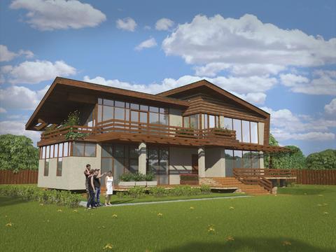 Дом для Вашей семьи в Дубне по индивидуальному проекту