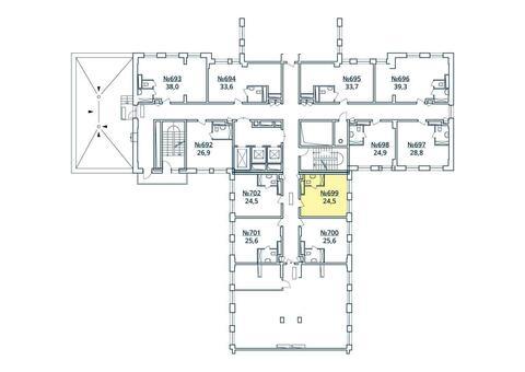 Москва, 1-но комнатная квартира, ул. Радиальная 6-я д.7, к 35, 2731407 руб.