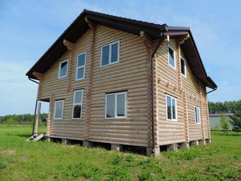 Новый дом из бревна