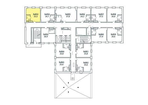 Москва, 1-но комнатная квартира, ул. Радиальная 6-я д.7, к 35, 2863548 руб.