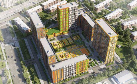 Москва, 1-но комнатная квартира, ул. Петра Алексеева д.12а, 7198377 руб.