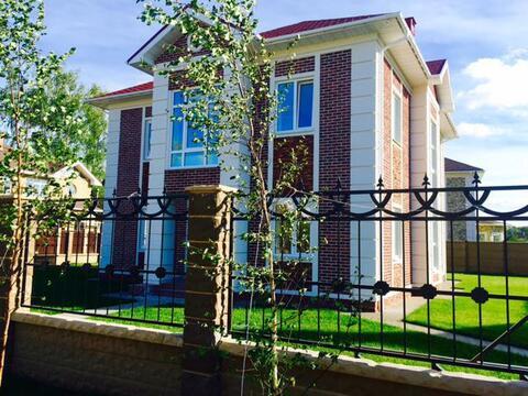 Кирпичный дом 210м