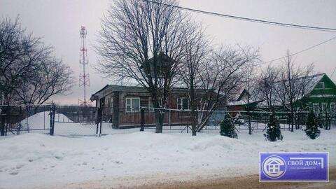 Дом на участке 25 сот. д.Ченцы (4 км от г. Волоколамск)