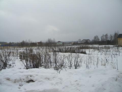 Продается земельный участок в д. Рубцово