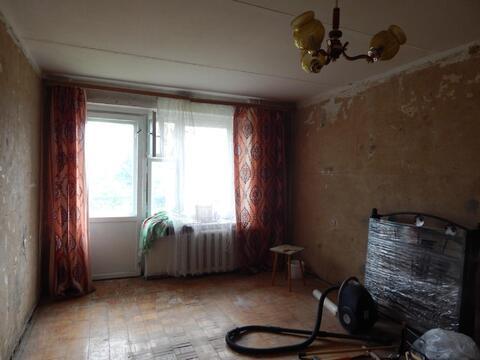 1 комнатная квартира 34,3 кв.м. в г.Руза под отделку.