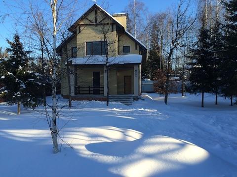 Сказочный загородный дом в лесу, Минское ш, Зеленая роща-1, Голицыно