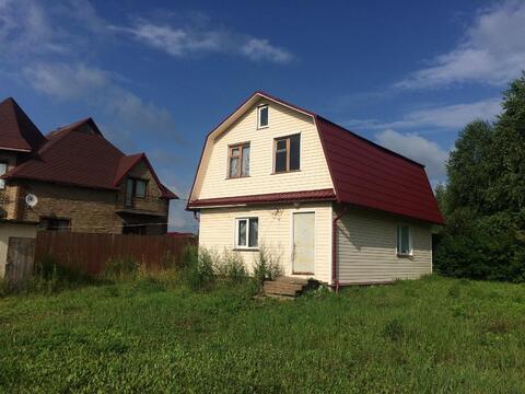 Дом 110 кв.м. в СНТ Алмаз около д. Леньково