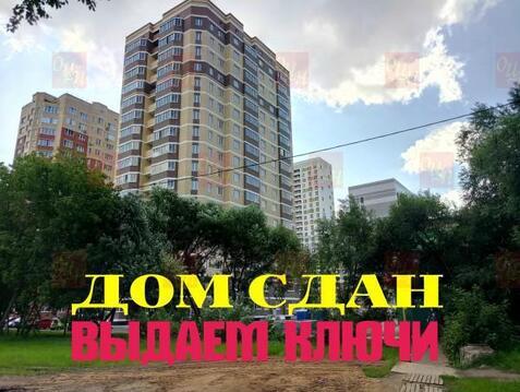 1-комнатная квартира, 38 кв.м., в ЖК на улице Краснознаменская, 17