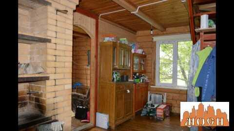 Бревенчатый дом+баня 10сот. черта Сергиев Посада СНТ Первомайское
