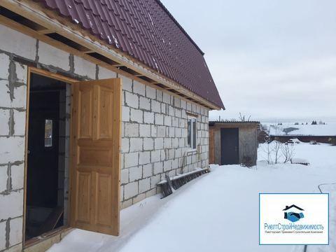 Новый дом в деревне рядом с городом и ж/д станцией