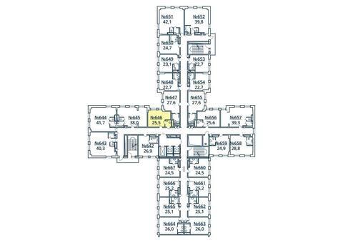Москва, 1-но комнатная квартира, ул. Радиальная 6-я д.7, к 35, 2873875 руб.