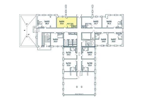 Москва, 1-но комнатная квартира, ул. Радиальная 6-я д.7, к 35, 3786753 руб.