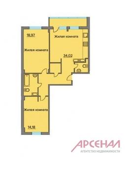 Балашиха, 3-х комнатная квартира, ул. Лукино д.51Б, 5300000 руб.