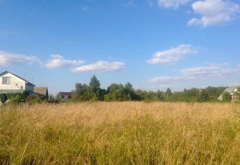 Участок в жилой деревне Серпуховского района., 730000 руб.