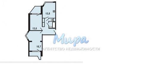 Москва, 2-х комнатная квартира, Недорубова д.14, 5850000 руб.