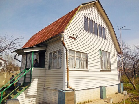 Каркасно-щитовая дача 65 (м2). Летняя кухня. Участок 6 соток.
