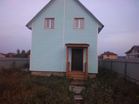 Купить дом из бруса в Домодедовском районе д. Вельяминово