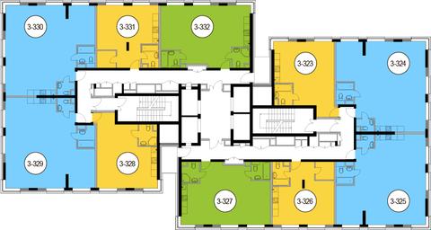 Москва, 1-но комнатная квартира, Головинское ш. д.10, 9231400 руб.