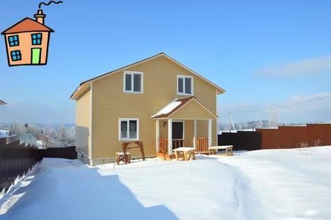 Дом из бруса 150 м2 в деревне Новоподушкино Сергиево-Посадского района