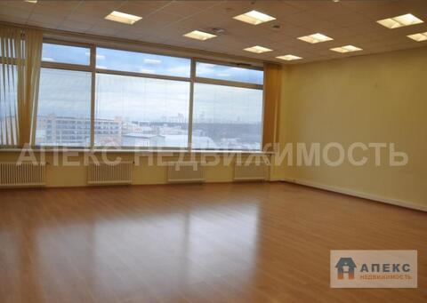 Аренда офиса 135 м2 м. Строгино в бизнес-центре класса А в Строгино