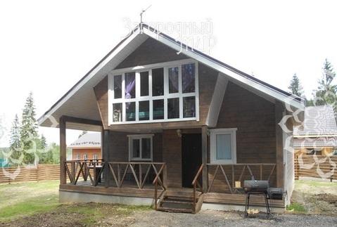 Новый дом в охраняемом коттеджном посёлке.