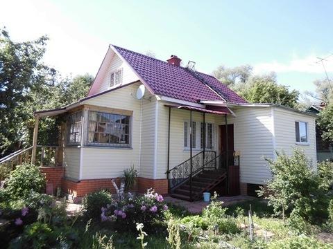 ПМЖ дом 88 кв.м (брус) с газом. Земельный участок 6 соток.