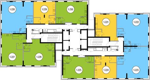 Москва, 2-х комнатная квартира, Головинское ш. д.10, 12196800 руб.