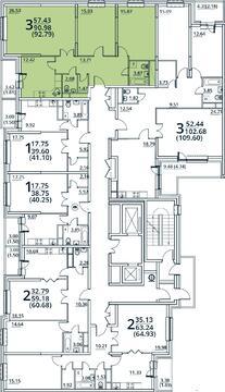 Москва, 3-х комнатная квартира, ул. Радиальная 6-я д.7, 8815050 руб.