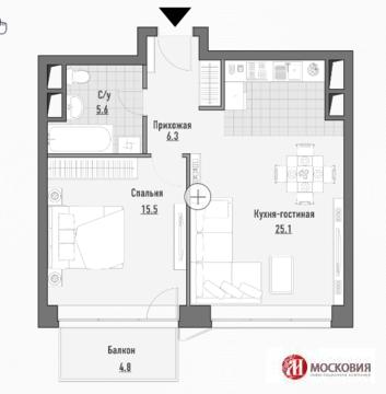 1 ямская Jazz 1 комнатная квартира