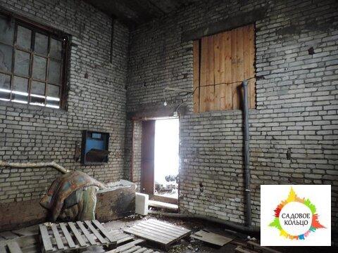 Неотапливаемое помещение в кирпичном зданиии кап