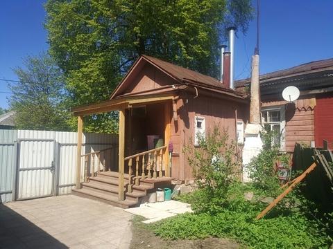 Часть жилого дома с участком 6,5 сотки в г. Можайск