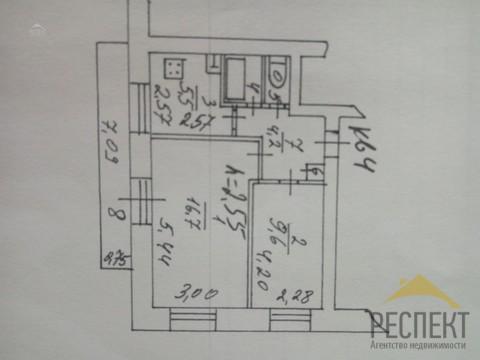 Люберцы, 2-х комнатная квартира, Хлебозаводской проезд д.3к2, 4300000 руб.