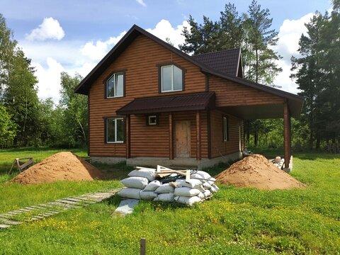 Участок 6,64 сотки с новым домом 180кв.м в д. Богачево