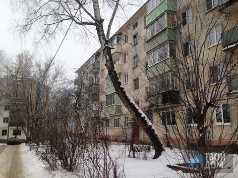 3х комн квартира в г Егорьевске, 1 мкр, д 13, 5/5п. Окна и трубы пвх,