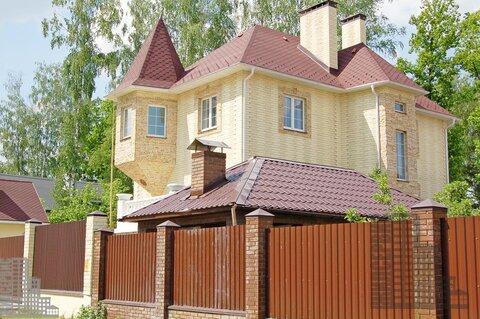 Трехуровневый коттедж 390м под ключ в ДНП Военнослужащий, Беляниново
