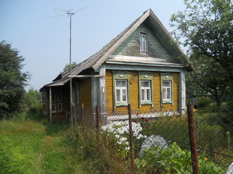 Продается дом с газом в дер.Здехово Щелковский район на берегу реки
