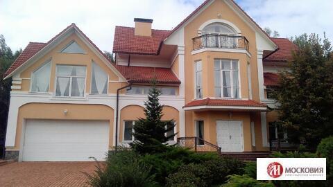 Готовый дом 1000 кв.м, на лесном участке 50 сот, Новая Москва