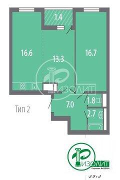 """2-комнатная квартира, 60 кв.м., в ЖК """"ЛУЧИ"""""""