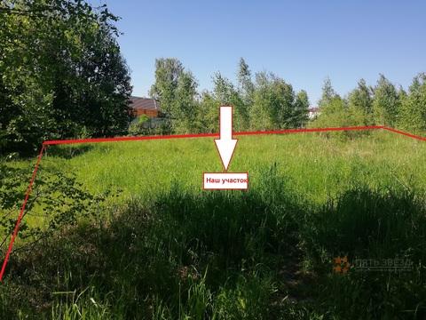 Продаю земельный участок 10 соток, Чеховский район, д. Поповка.