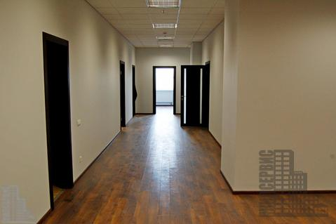 Офис 509м с отделкой в 17-этажном бизнес-центре у метро