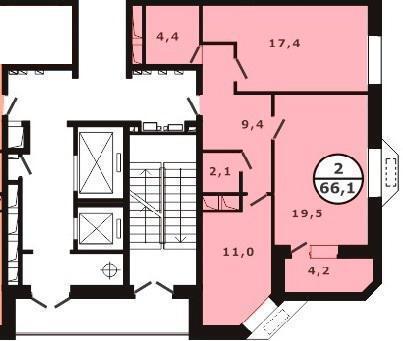 Продается 2-х комнатная квартира в г. Видное