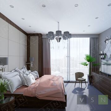 "1-комнатная квартира, 37 кв.м., в ЖК ""Резиденция Тверская"""