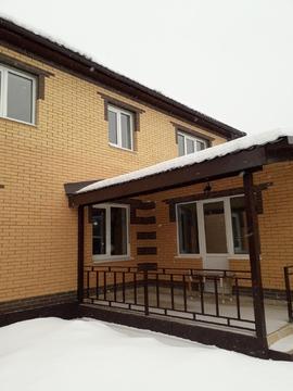 Двухэтажный дом 148 кв.м + 50 кв.м. гостевой в п.Тучково