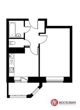 """1-комнатная квартира, 31 кв.м., в ЖК """"Видный Город"""""""