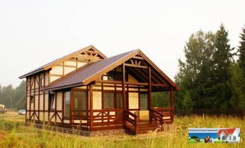 Новый деревянный дом 115 кв.м на берегу вдхр