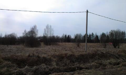 Продам уч-к 12 соток д.Верхнее Шахлово, Серпуховский р-н