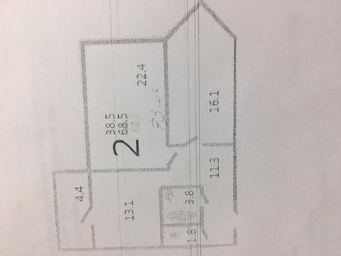 2-я квартира в Щапово 68,5м2 за 5 500 000
