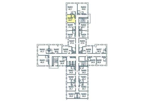 Москва, 1-но комнатная квартира, ул. Радиальная 6-я д.7, к 35, 2853739 руб.