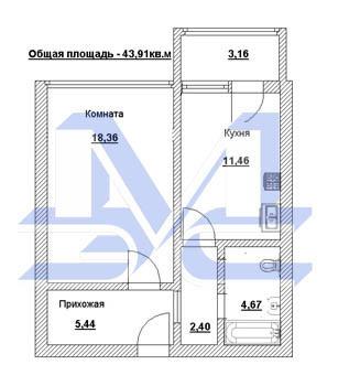 Павловский Посад квартира в новостройке